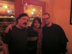 Phil Gomez, Eliane Amherd and Tung at Barcelona, Clayton, MO, 1/7/2012.